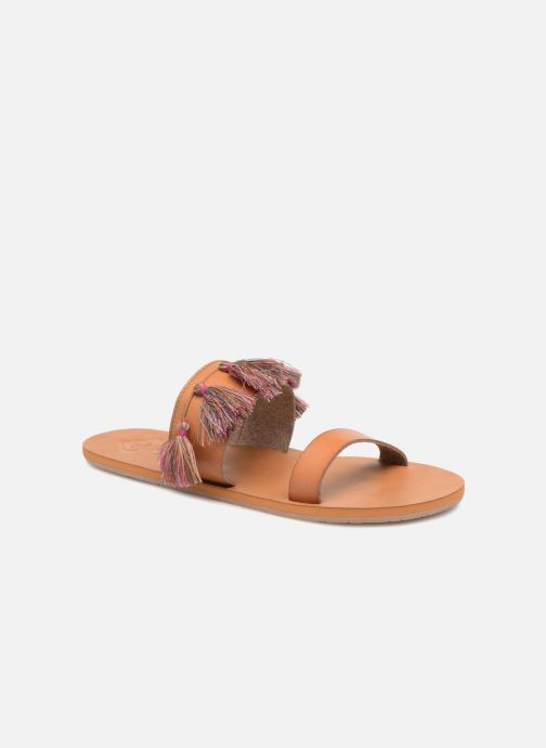 Sandales et nu-pieds Roxy Izzy Marron vue détail/paire