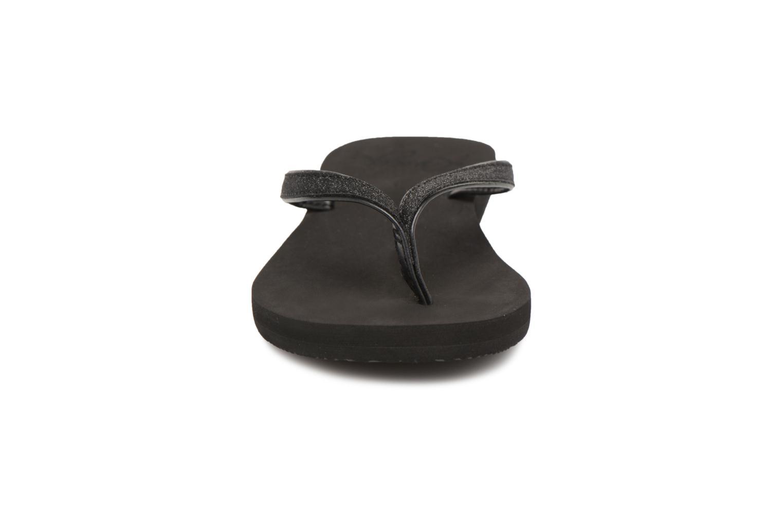 Tongs Roxy Napili II Noir vue portées chaussures