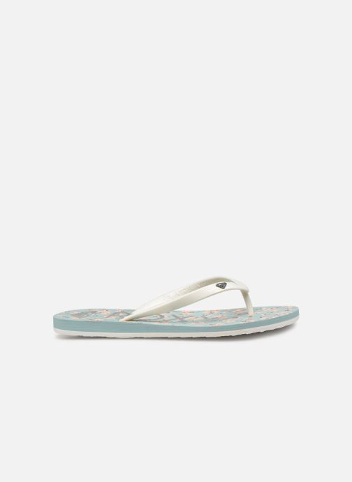 Flip flops Roxy Tahiti VI Blue back view