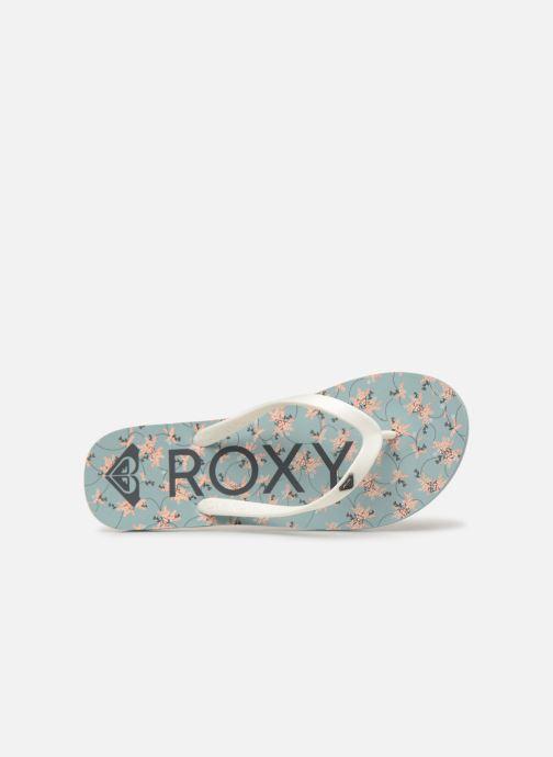 Tongs Roxy Tahiti VI Bleu vue gauche