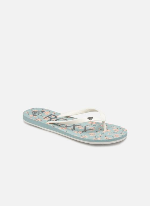 Flip flops Roxy Tahiti VI Blue detailed view/ Pair view