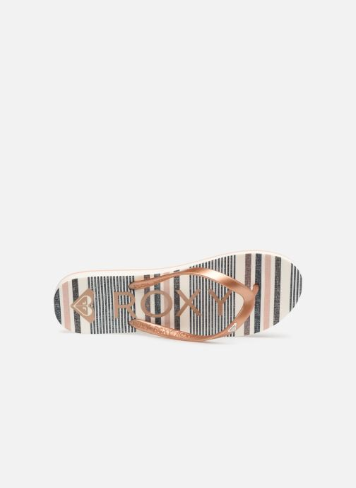 Tongs Roxy Tahiti VI Multicolore vue gauche