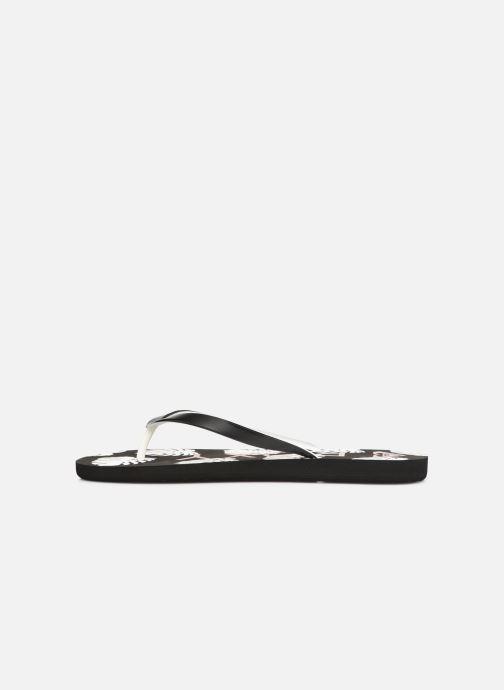 Slippers Roxy Tahiti VI Zwart voorkant