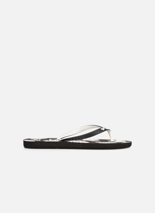 Slippers Roxy Tahiti VI Zwart achterkant