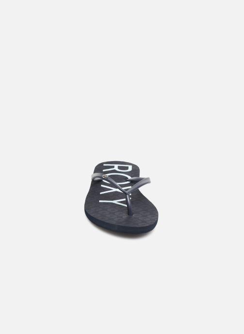 Tongs Roxy Sandy II Bleu vue portées chaussures