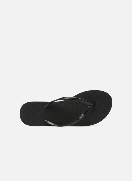 Slippers Roxy Viva IV Zwart links