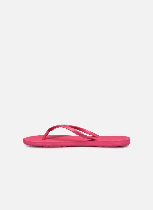 Slippers Roxy Viva IV Roze voorkant