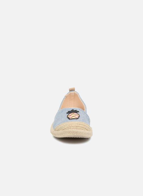 Espadrilles Roxy Flora II Bleu vue portées chaussures