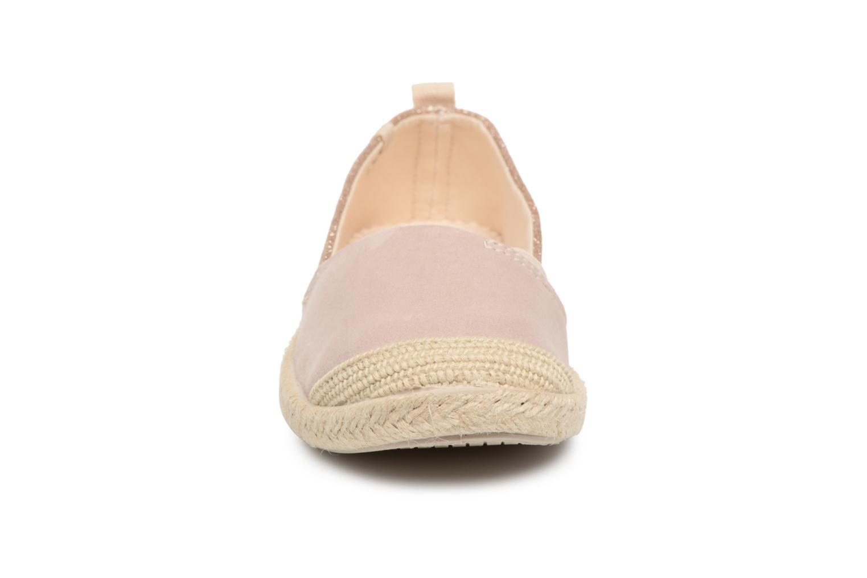 Espadrilles Roxy Flora II Beige vue portées chaussures