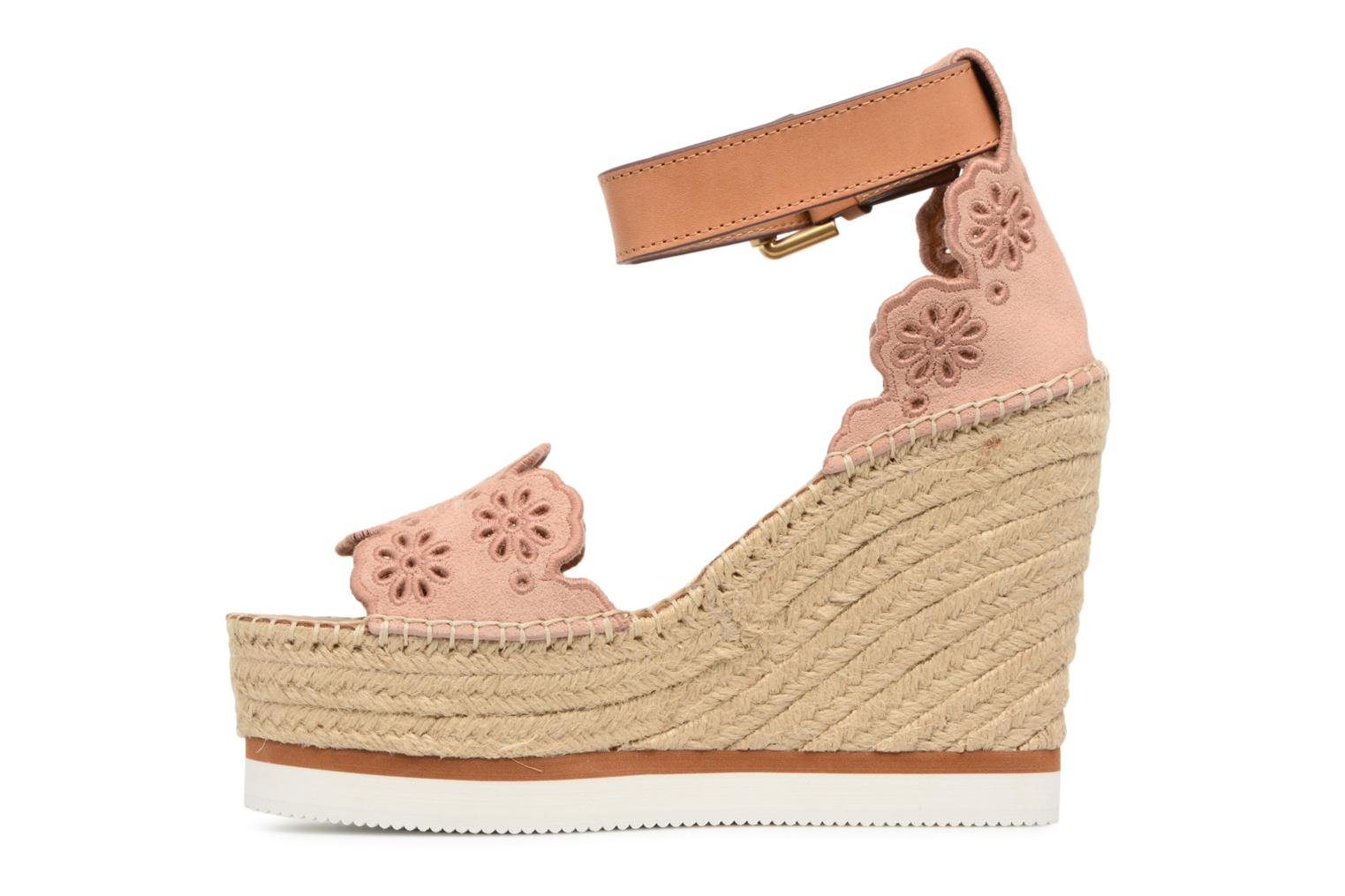 Espadrilles See by Chloé Glyn Rose vue face