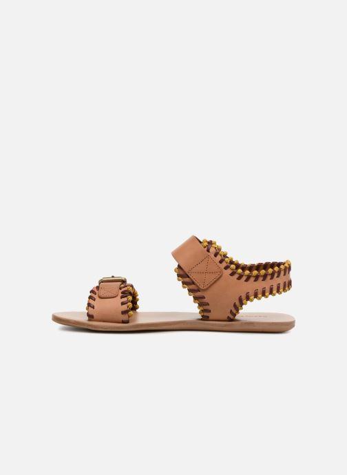 Sandales et nu-pieds See by Chloé Romy Marron vue face