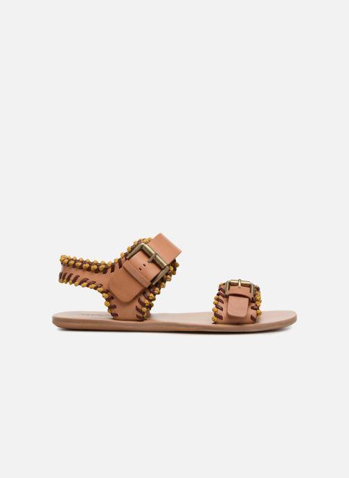 Sandales et nu-pieds See by Chloé Romy Marron vue derrière