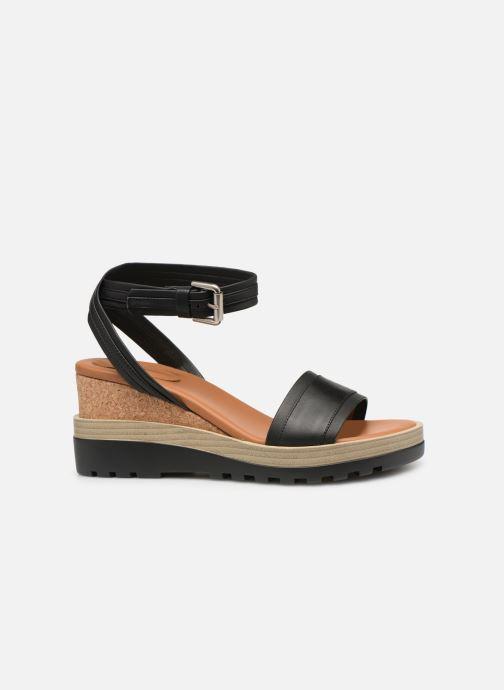 Sandales et nu-pieds See by Chloé Robin 2 Noir vue derrière