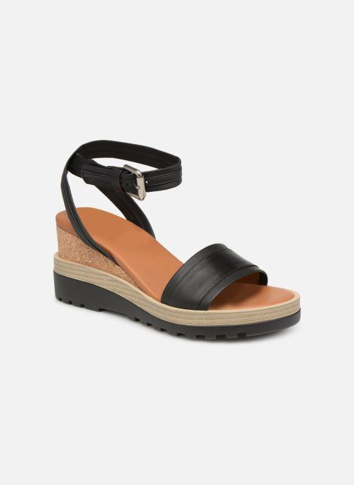 Sandales et nu-pieds See by Chloé Robin 2 Noir vue détail/paire
