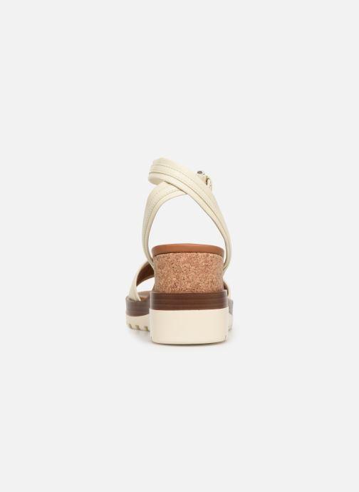 Sandales et nu-pieds See by Chloé Robin 2 Blanc vue droite