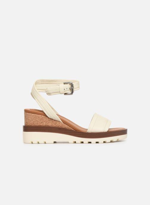 Sandales et nu-pieds See by Chloé Robin 2 Blanc vue derrière