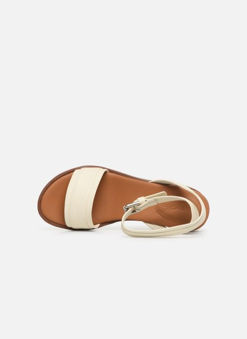 Sandales et nu-pieds See by Chloé Robin 2 Blanc vue gauche