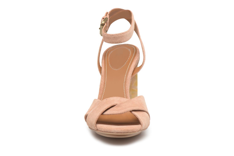 Sandales et nu-pieds See by Chloé Isida Marron vue portées chaussures