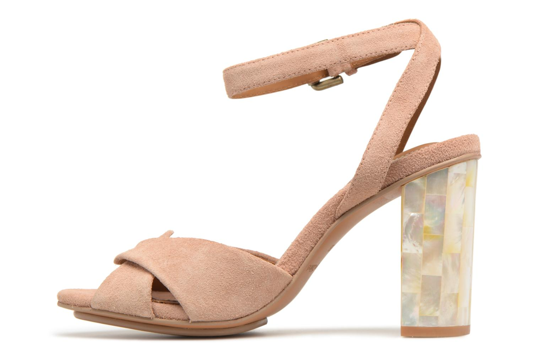Sandales et nu-pieds See by Chloé Isida Marron vue face