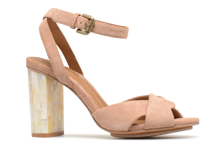 Sandales et nu-pieds See by Chloé Isida Marron vue derrière