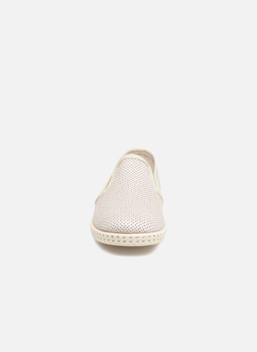 Espadrilles Conguitos Tecno Beige vue portées chaussures