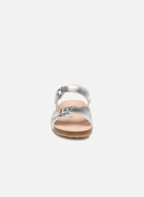 Sandales et nu-pieds Conguitos Alejandra Argent vue portées chaussures