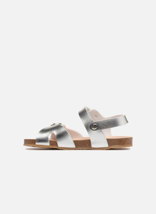 Sandales et nu-pieds Conguitos Alejandra Argent vue face