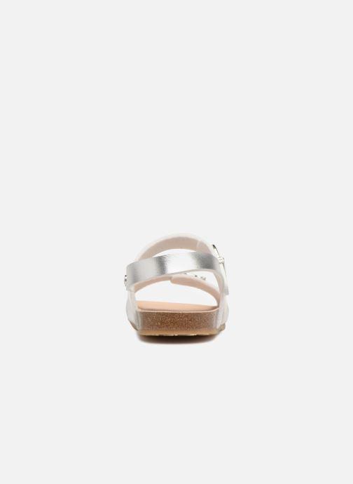 Sandales et nu-pieds Conguitos Alejandra Argent vue droite