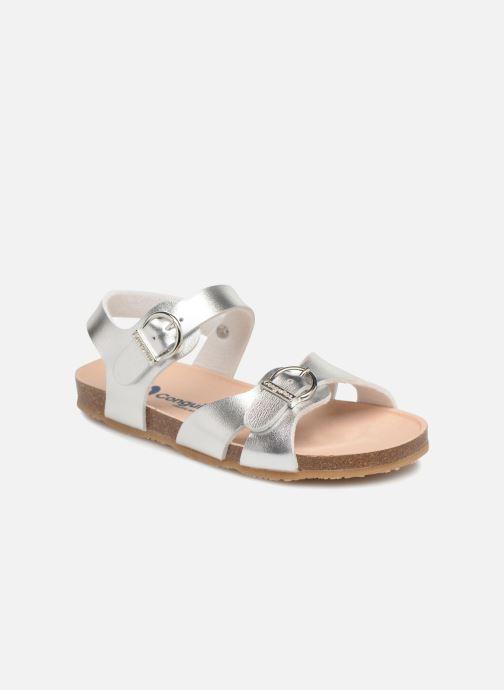 Sandales et nu-pieds Conguitos Alejandra Argent vue détail/paire