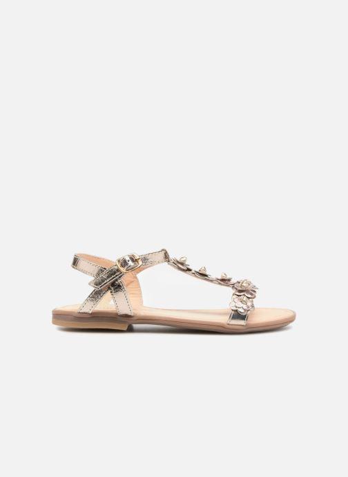 Sandales et nu-pieds Conguitos Noelia Or et bronze vue derrière