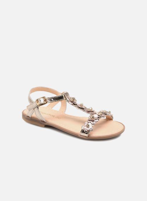 Sandales et nu-pieds Conguitos Noelia Or et bronze vue détail/paire
