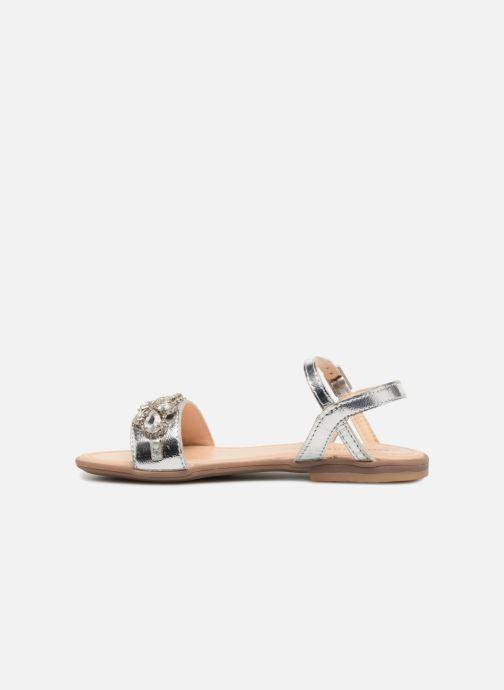 Sandales et nu-pieds Conguitos Esmeralda Argent vue face