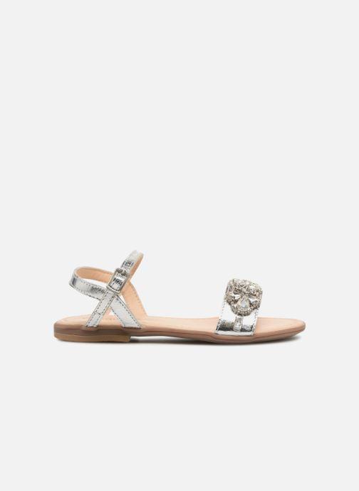 Sandales et nu-pieds Conguitos Esmeralda Argent vue derrière