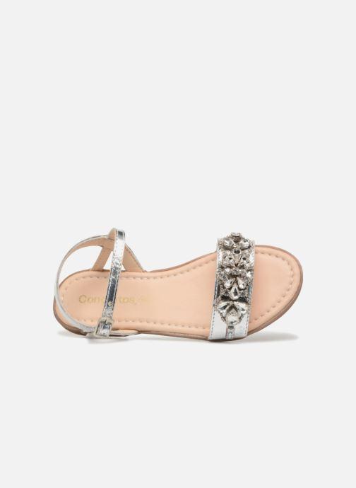 Sandales et nu-pieds Conguitos Esmeralda Argent vue gauche