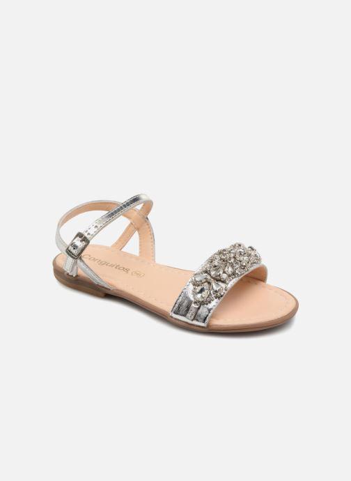 Sandales et nu-pieds Conguitos Esmeralda Argent vue détail/paire