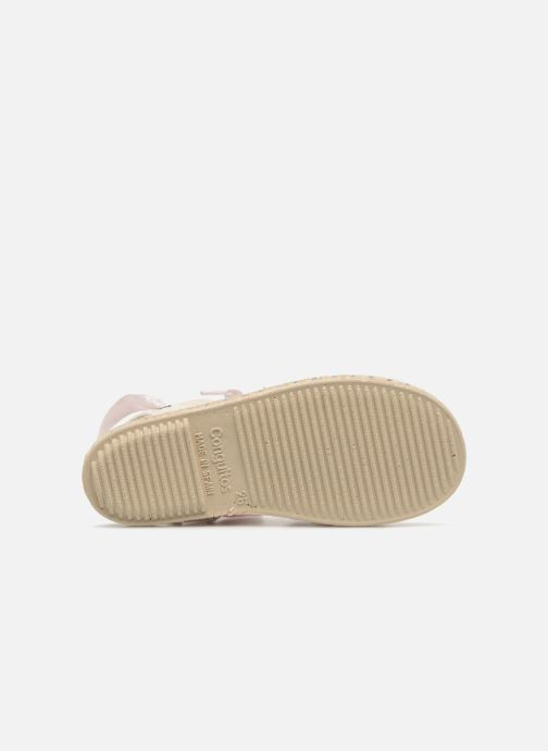 Espadrilles Conguitos Cetus Pink view from above