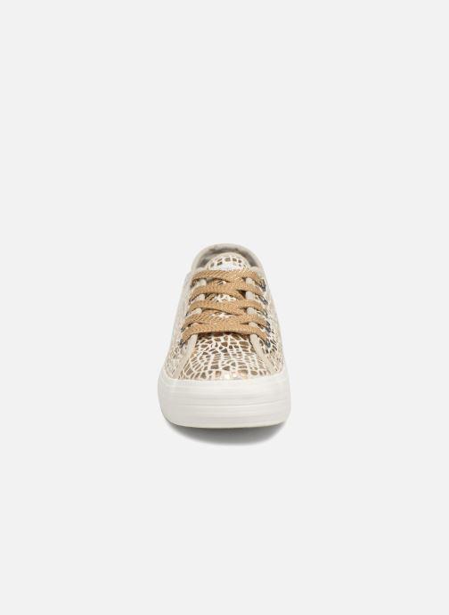 Baskets Fresas by Conguitos Luna Or et bronze vue portées chaussures