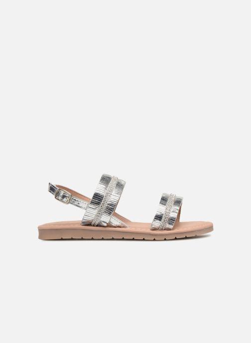 Sandalen Fresas by Conguitos Ana silber ansicht von hinten