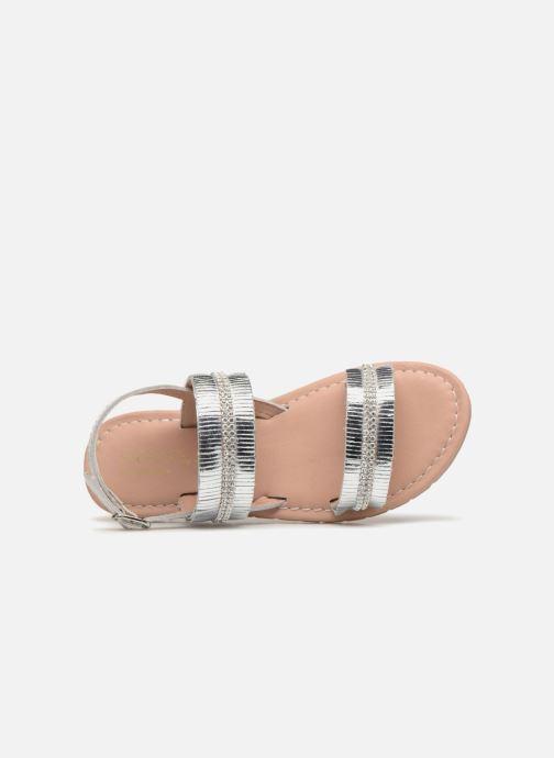 Sandales et nu-pieds Fresas by Conguitos Ana Argent vue gauche