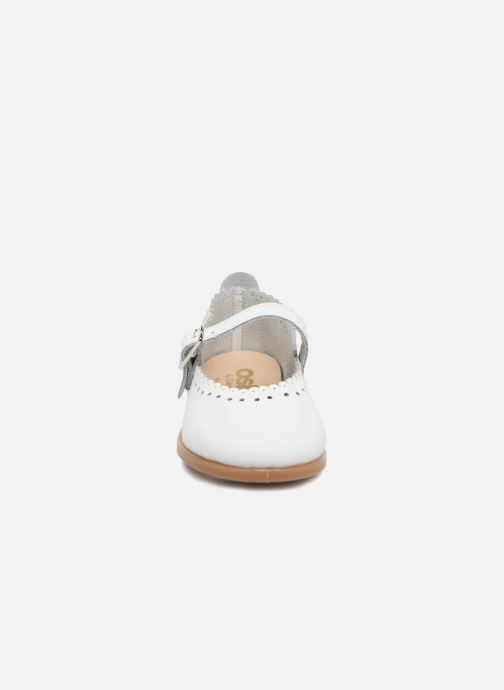 Ballerines Osito by Conguitos Silvia Blanc vue portées chaussures