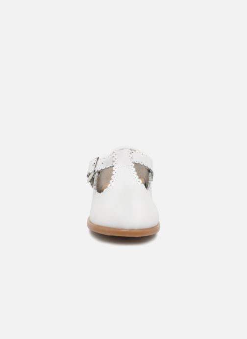 Ballerines Osito by Conguitos Telma Blanc vue portées chaussures