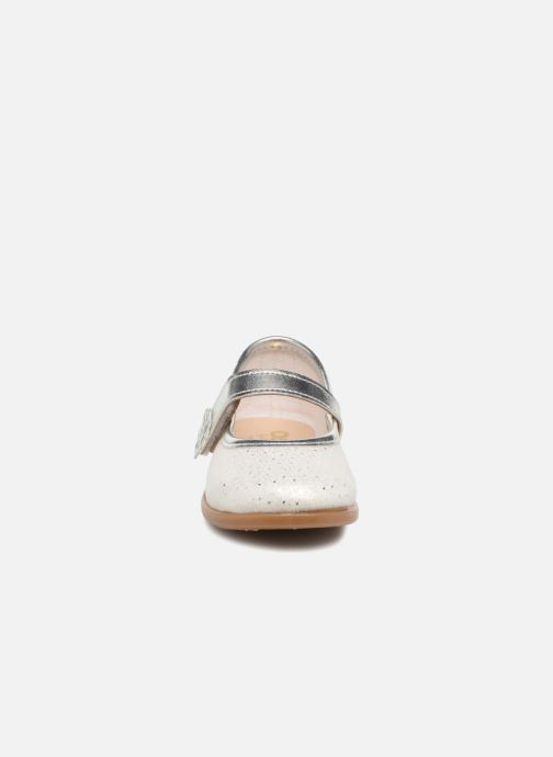 Ballerines Osito by Conguitos Veronica Blanc vue portées chaussures