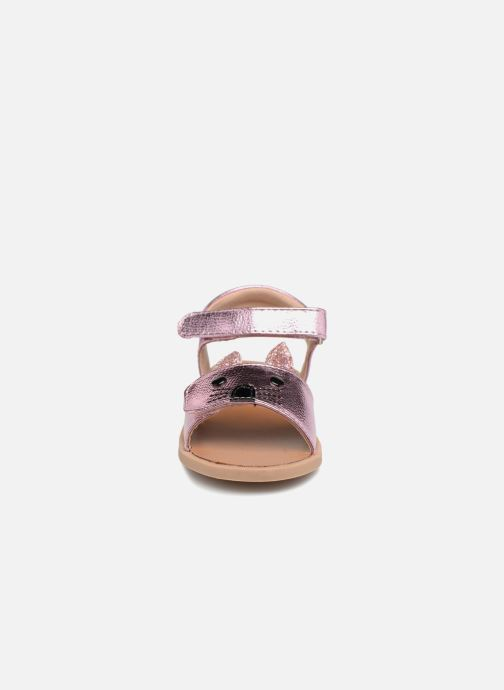 Sandales et nu-pieds Osito by Conguitos Paloma Rose vue portées chaussures