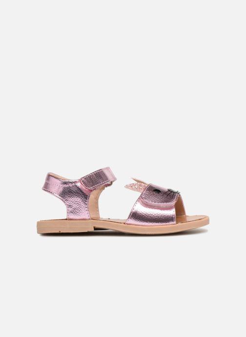 Sandales et nu-pieds Osito by Conguitos Paloma Rose vue derrière