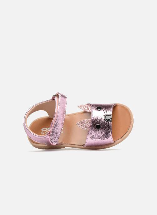 Sandales et nu-pieds Osito by Conguitos Paloma Rose vue gauche