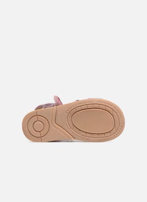 Sandales et nu-pieds Osito by Conguitos Paloma Rose vue haut