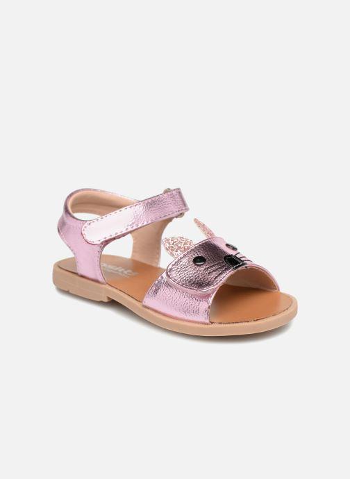 Sandales et nu-pieds Osito by Conguitos Paloma Rose vue détail/paire