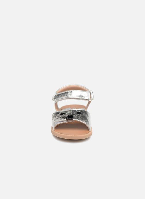 Sandales et nu-pieds Osito by Conguitos Paloma Argent vue portées chaussures