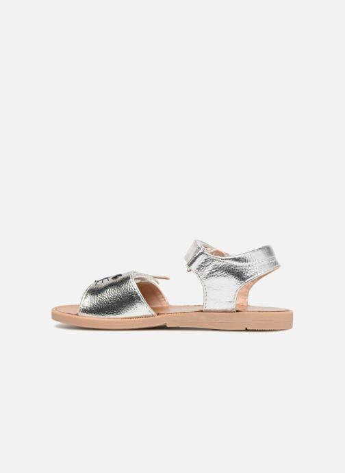 Sandales et nu-pieds Osito by Conguitos Paloma Argent vue face
