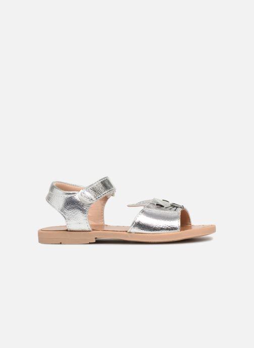 Sandales et nu-pieds Osito by Conguitos Paloma Argent vue derrière